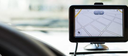 navigation GPS voitures connectées